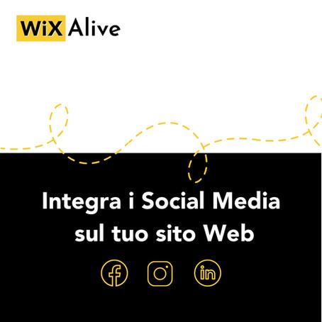 Come integrare i Social Media Buttons sul tuo Sito Wix