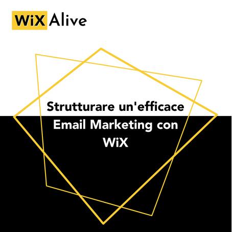 Creare un'Email Marketing efficace con Wix
