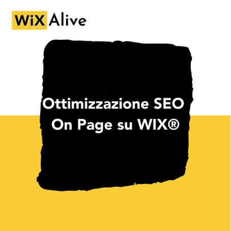 Come ottimizzare la SEO On Page del tuo sito WIX