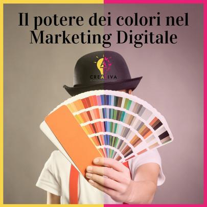 Il Potere dei Colori nel Marketing Digitale