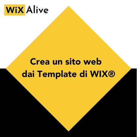 Come creare un sito web online da WiX Template