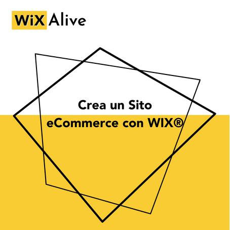 Come creare un sito eCommerce con WiX