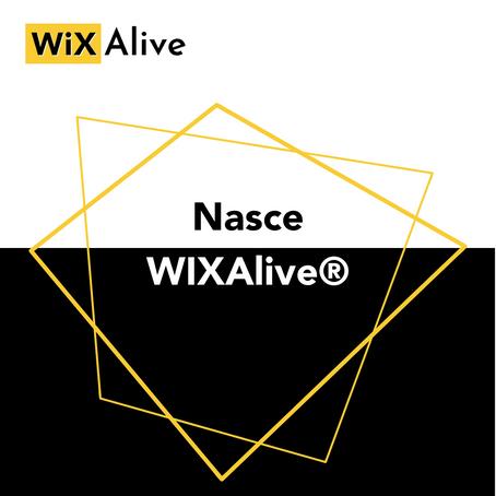 Nasce WiXAlive®. Crea il tuo sito web gratis con il nostro percorso di formazione!