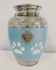 blue urn with paws.JPG