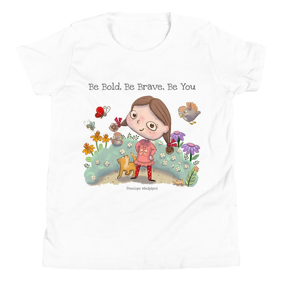 Penelope Windpipes - Be - Youth Short Sleeve T-Shirt