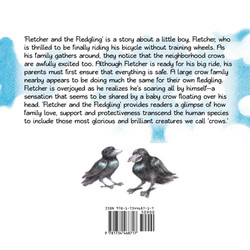Fletcher and the Fledgling - Back Cover.