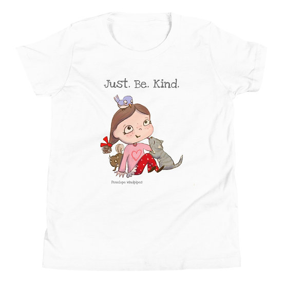 Penelope Windpipes - Just. Be. Kind. - Youth Short Sleeve T-Shirt
