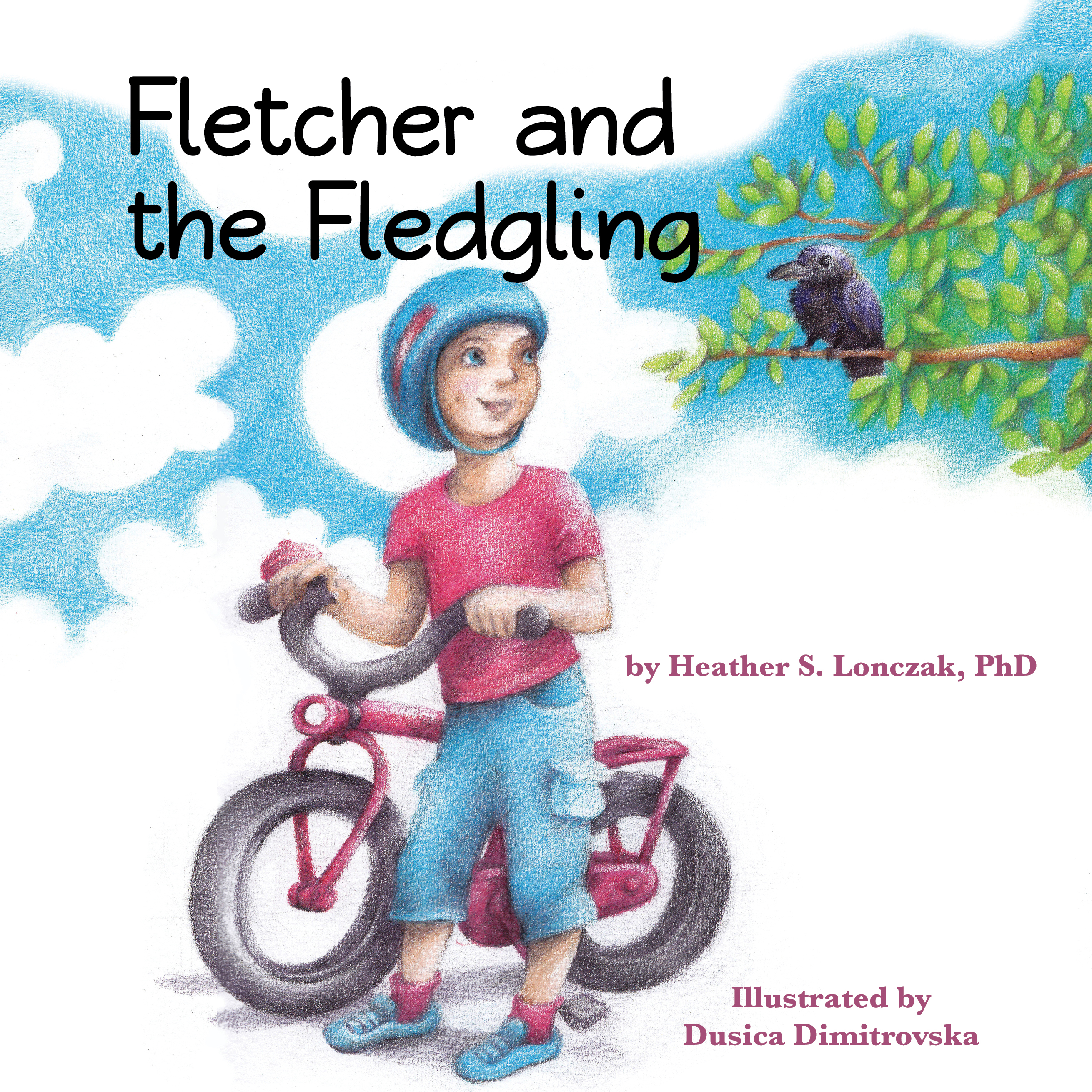 Fletcher and the Fledgling - Front Cover