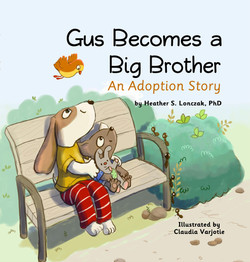 Gus Becomes a Big Brother - Front Cover.