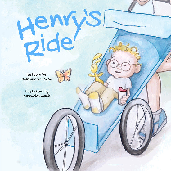 25 Copies (Hardcover) - Henry's Ride