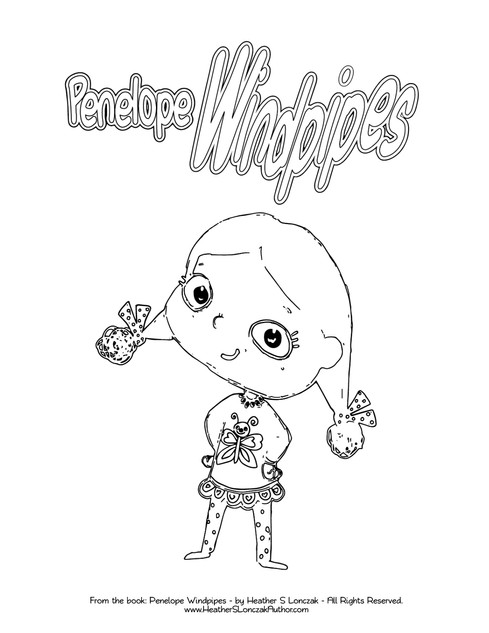 Download Penelope Coloring PDF