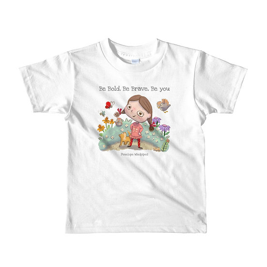 Penelope Windpipes - Be - Short sleeve kids T-shirt