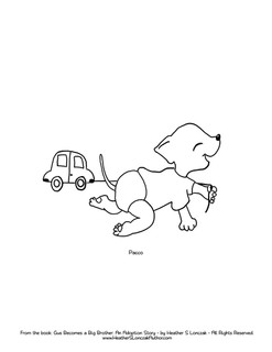 Download Pacco Coloring PDF