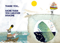 492 More Thank you Greeting Card
