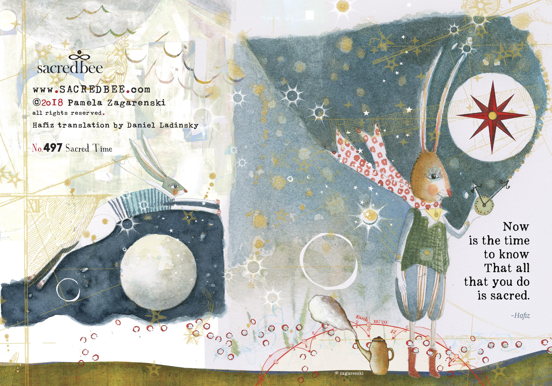 Name A Animal You Might See On A Christmas Card.Sacredbee Greeting Cards Pamela Zagarenski Cards