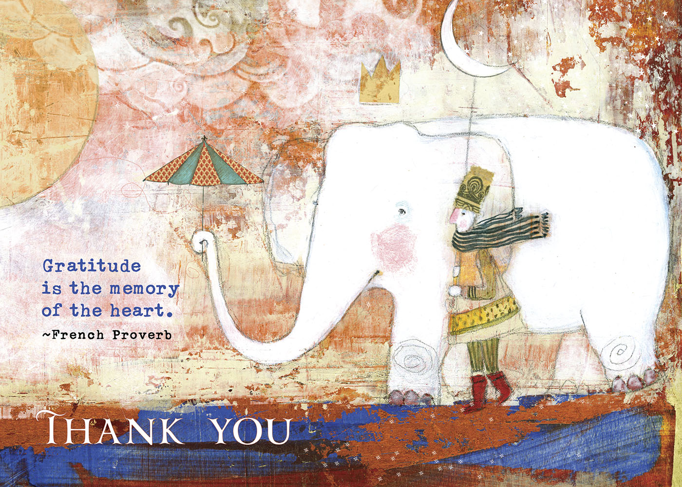 494 Gratitude Greeting Card