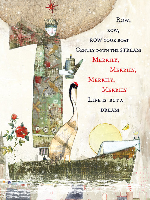 371 Merrily Sacredbee Greeting Card