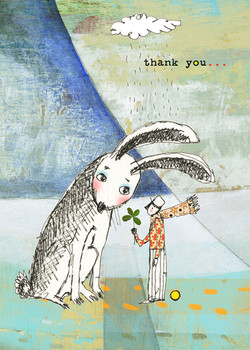443 Rabbit's Thank you