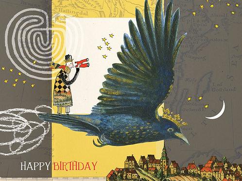 410 Birthday Crow