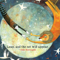 493 Leap  Sacredbee Greeting Card