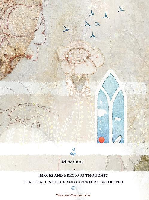 541 Memories Sacredbee Greeting Card
