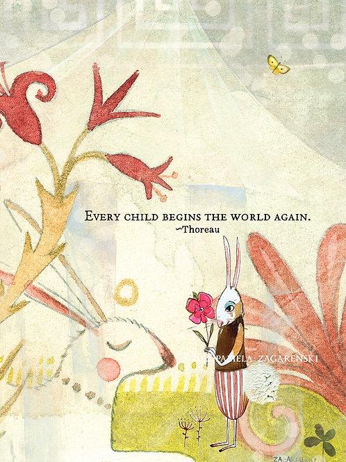 528 Every Child Sacredbee Greeting Card