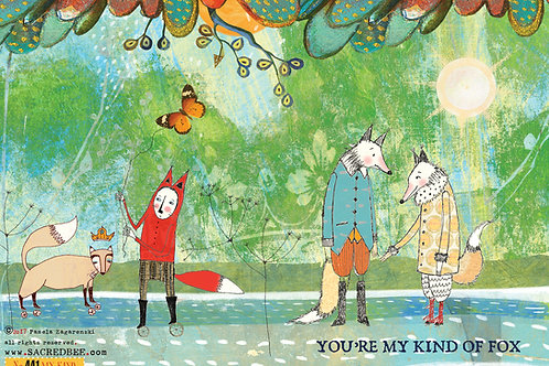 441 My Kind Sacredbee Greeting Card