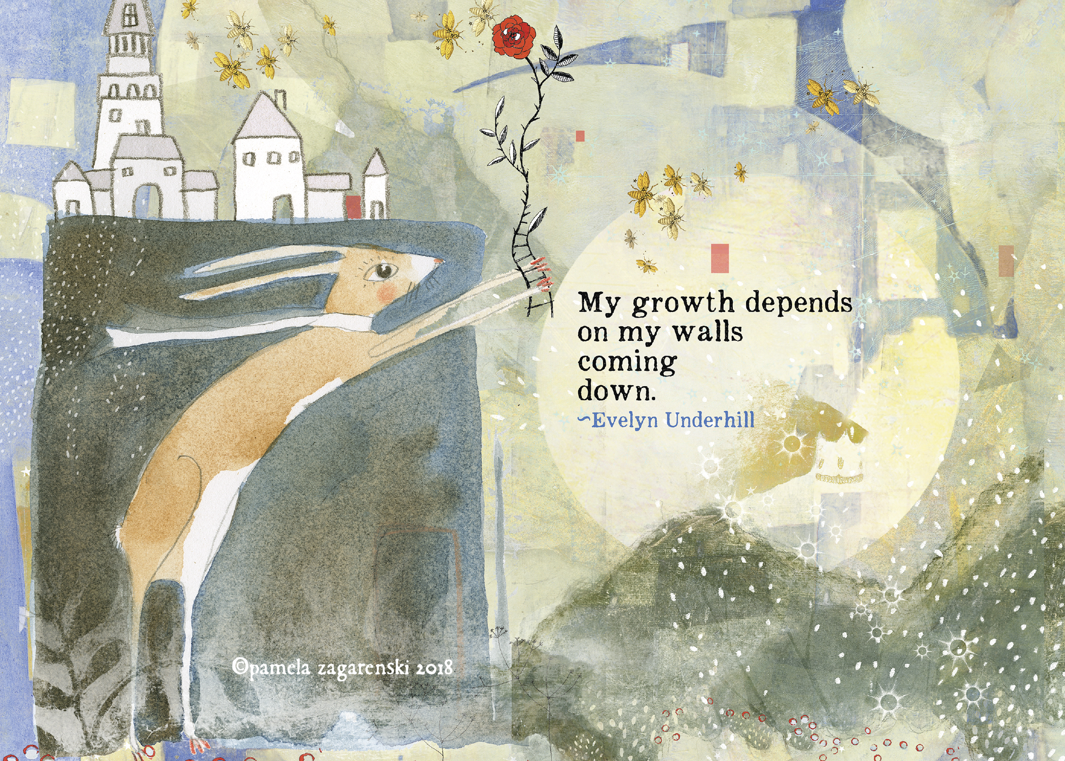 502 Growth Greeting Card