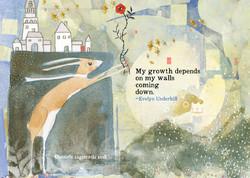 502 Growth Greeting Card