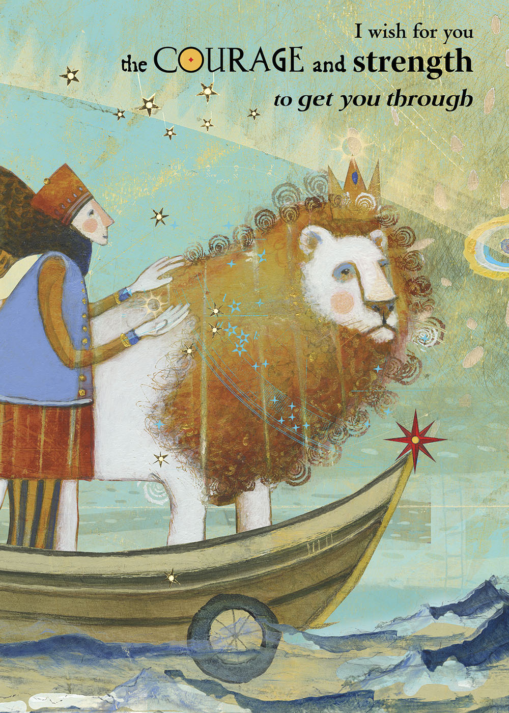 436 courage Greeting Card