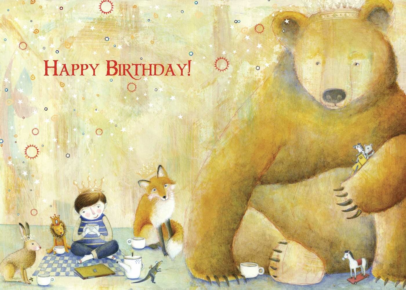 466 Leo's Birthday Card
