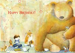 466 Leo's Birthday Card