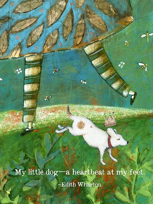 516 Little Dog Sacredbee Greeting Card