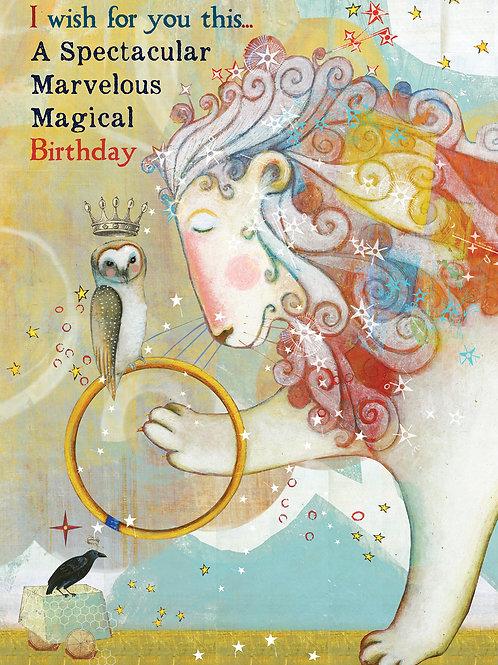 428 Magical Marvelous Sacredbee Greeting Card