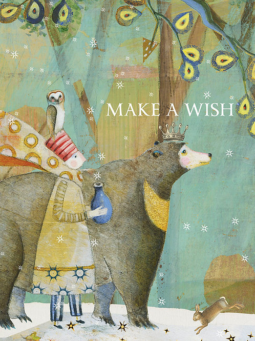 438 Make A Wish Sacredbee Greeting Card