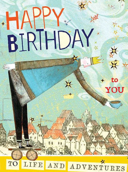 123 Happy Birthday to You Sacredbee Greeting Card