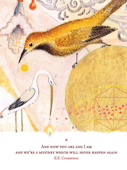 543 Mystery Sacredbee Greeting Card