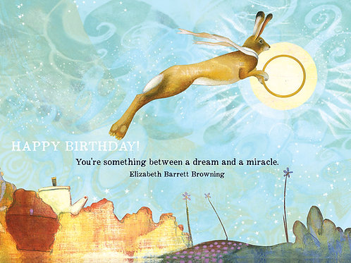 471 Dream & Miracle Sacredbee Greeting card