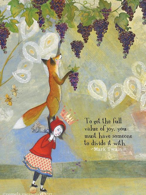 462 Full Joy Sacredbee Greeting Card