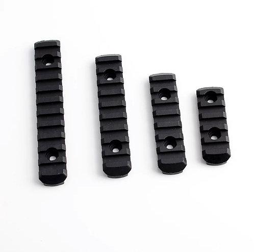 Riel Picatinny Sistema M-lok Kit 4 Piezas