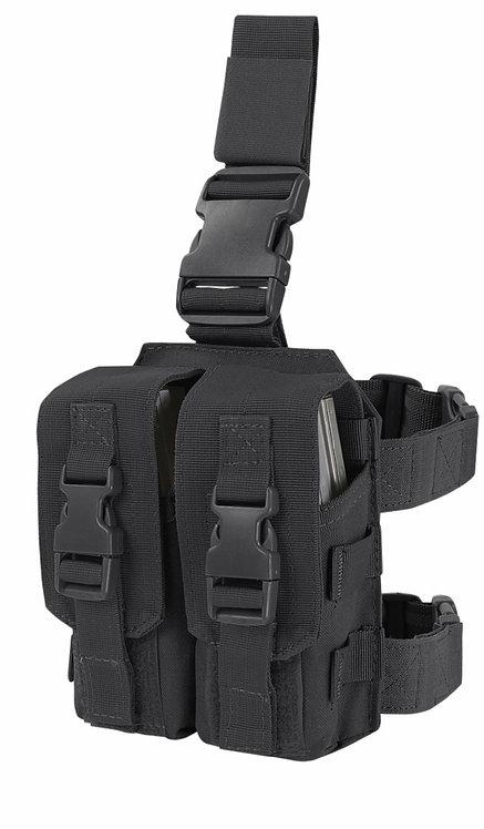 Piernera Portacargador Drop Leg M4 Mag Pouch Ma65 Mca Condor