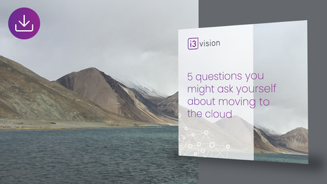 5 Questions You Might Ask Yourself About Moving To The Cloud
