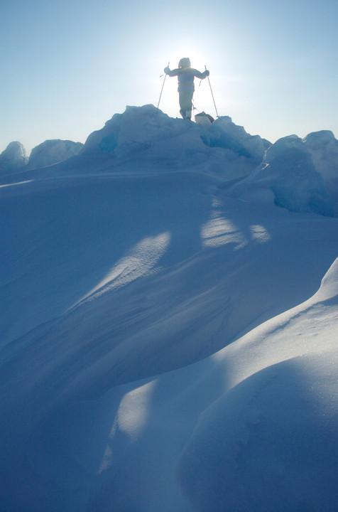 Atop a Pressure Ridge