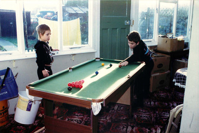1986 - First Pool Table