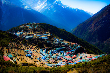 Namche Bazaar, Nepal - March 2019