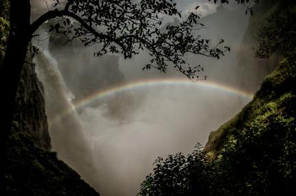 Victoria Falls, Zimbabwe and Zambia - 2007