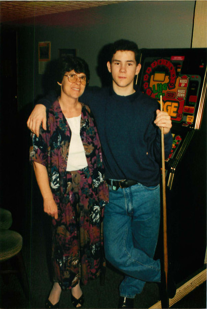 1991 - My Mother and I