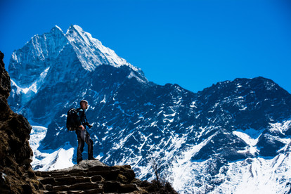 Himalayan Mountains, Nepal - 2019