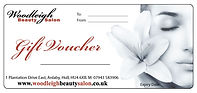 Woodleigh Beauty Salon Gift Vouchers