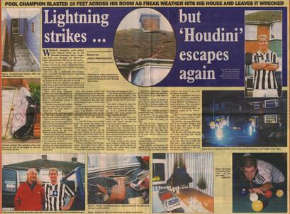 2001 - Lightning Strike